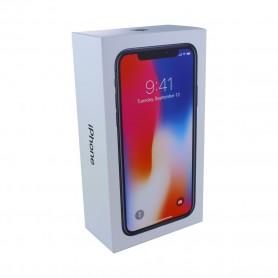 Caixa Apple iPhone X, SEM equipamento e acessórios, Preto, Original