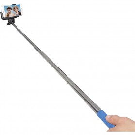 Kit Vision Bluetooth Selfie Stick Blue, BTSSPHBL