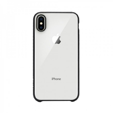 Incase, PopCase Cover Clear, iPhone X/ Xs, Clear / Black, INPH190382-BLK
