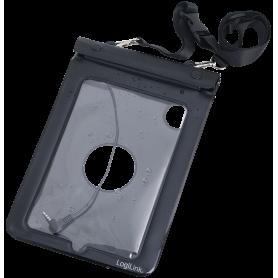 LogiLink Waterproof Hülle Beach Bag for 7 inch Tablets 250 x 165 mm Black, AA0038