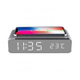 Cyoo, Buzzer + Phone Carregador por Indução Silver, Qi Standard, CY120900
