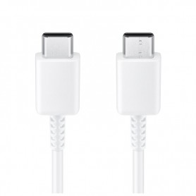 Cabo Samsung, EP-DA705BWE, USB Tipo C para USB Tipo C, 1.0m, Branco, Original, EP-DA705BWEGWW