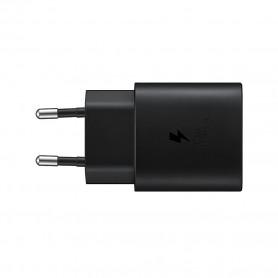 Adaptador Samsung EP-TA800XBEGWW USB sem Cabo USB Tipo C 25W Carregador - 3A, Preto, Original