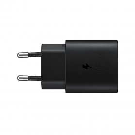 Samsung, EP-TA800XBEGWW USB Adapter, without cable, USB Type C 25W Charger, 3A, Black