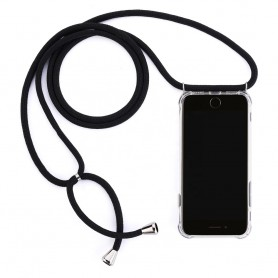 Cyoo, Necklace Case + Necklace, Huawei Mate 20, Black, Silicone Case, CY121013