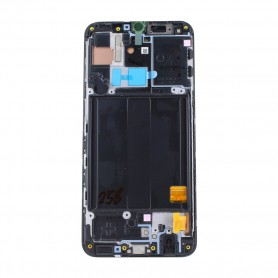 Samsung A405F Galaxy A40 (2019) LCD Display / Touchscreen with Frame Black, GH82-19672A/ 19674A
