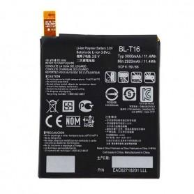 LG, BL-T16, G Flex 2 H955, 3000mAh, Li-Ion Battery