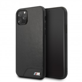 BMW, Smooth, leatherette, Apple iPhone 11 Pro Max, black, TPU Case, BMHCN65MHOLBK
