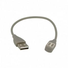 Cabo OEM USB para Jawbone UP2, UP3, UP4 23cm, Cinzento