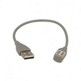 OEM USB Charging Cable for Jawbone UP2, UP3, UP4 23cm grey