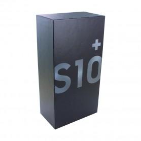 Caixa Samsung Galaxy S10 Plus, SEM equipamento e acessórios, Preto, Original