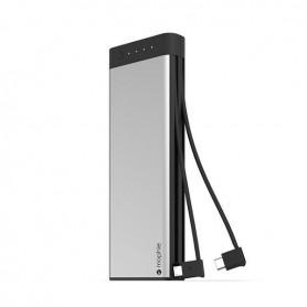 Banco de Energia Mophie, Encore Plus Rechargable, USB C / MicroUSB, 10.000mAh, Preto, 450-02779-A