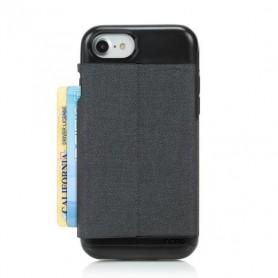Incipio Esquire Series iPhone 6 / 6s / 7 / 8 Dark Grey Cardholder, IPH-1487-WDG