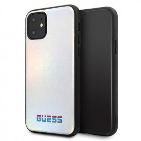 Guess, Iridescent Case, Apple iPhone 11 Pro Max, Silver, GUHCN65BLD