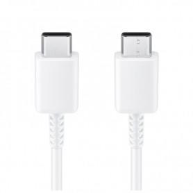 Cabo Samsung, EP-DA905BWE, USB Tipo C para USB Tipo C, 1m, Branco, Original, GH39-02032A