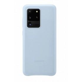 Samsung, Leather Case, Samsung Galaxy S20 Ultra, Sky Blue, Case, EF-VG988LLEGEU