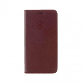 Mike Galeli Marc Genuine Leather Handmade Book Case N960F Galaxy Note 9 Red, MARCNOTE9N-M02