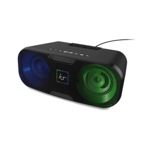 Coluna Altifalante KitSound, Slam XL Bluetooth Party Light, Preto, KSSMXLBK