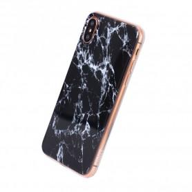 Uunique, Street Marble, Silicone Case, Apple iPhone X, Xs, Metallic, UUSTIP8TPU1