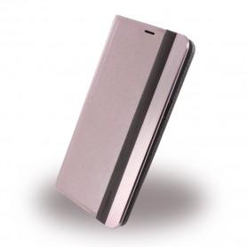 Uunique, Wooden/Aluminium UUOOS8WC001, Book Cover, Samsung G950 Galaxy S8, Pink