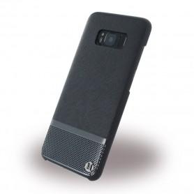 Uunique, Luxe Saffiano UUS8SLSHS03, Hardcover, Samsung G950 Galaxy S8, Silver