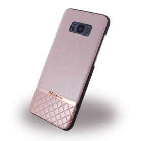 Uunique, Metallic Saffiano UUS8PSLSHS04, Hardcover, Samsung G955 Galaxy S8 Plus, Rose Gold