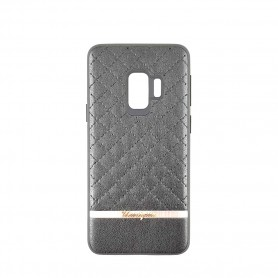 UUnique, Quilted Hard Shell Case, Samsung G960F Galaxy S9, Black, Protective Cover, Cover, UUSGS9FSH02