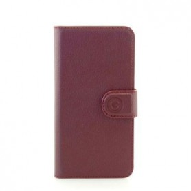 Mike Galeli, Joss Genuine leather, Apple iPhone X, Xs, Red, Handmade Book Case, JOSSIPX-M02