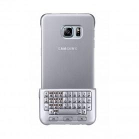 Capa com teclado Samsung, EJ-CG928, G928F Galaxy S6 Edge Plus, Prateado, Original, EJ-CG928MSEGDE