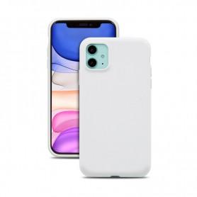Cyoo, Premium Liquid Silicone, Apple iPhone 12 mini (5.4 Zoll), white, Hard Case, CY121873