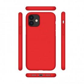 Capa Rígida Cyoo, Premium Liquid Silicone, Apple iPhone 12 Pro ´6.1 Zoll´, Vermelho, CY121877