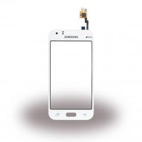Samsung, GH96-08064B, Digitizer / Touchscreen, SM-J100H Galalxy J1 Duos, White