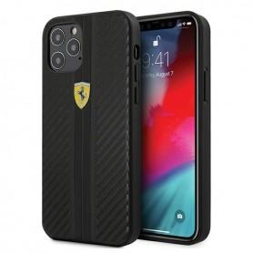 Capa Ferrari, On Track, iPhone 12 mini ´5.4´, Preto, FESNECHCP12SBK