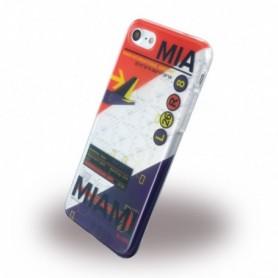 Benjamins BJ7AIRMIA AirPort MIA Miami Silicone Cover / Phone Skin Apple iPhone 7, 8
