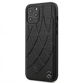 Mercedes-Benz, Bow Line, iPhone 12 mini (5.4), black, Hard Case, MEHCP12SDIQBK