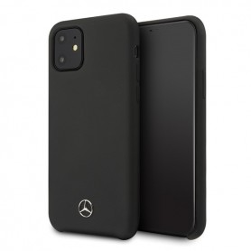 Capa Rígida Mercedes Benz, Silicone Line, iPhone 12 mini ´5.4´, Preto, MEHCP12SSILBK