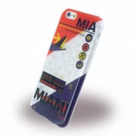 Benjamins BJ6AIRMIA AirPort MIA Miami Silicone Cover / Phone Skin Apple iPhone 6, 6S