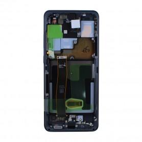 Módulo do Ecrã Samsung, GH82-22271A / 22327A, G988F Galaxy S20 Ultra 5G, Cosmic black, conjunto completo, Original