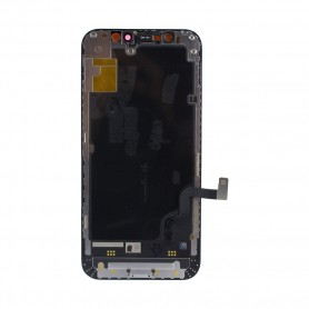 Pulled, original quality, Lcd+Touch Screen Full Set, iPhone 12 mini, black Display Front module Touchscreen