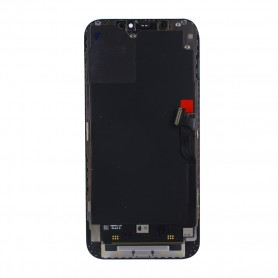 Pulled, original quality, Lcd+Touch Screen Full Set, iPhone 12 Pro Max, black Display Front module Touchscreen