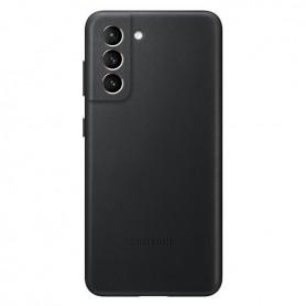 Capa em Couro Samsung, EF-VG996, G996F Galaxy S21 Plus, Preto, Original, EF-VG996LBEGWW