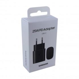 Adaptador Samsung, EP-TA800NBEGEU USB, sem Cabo, USB Tipo C 25W Carregador, 3A, Original
