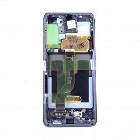 Módulo do Ecrã Samsung, GH82-22145A, G986F Galaxy S20 Plus 5G, Cosmic black, conjunto completo, Original