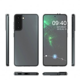 Capa em Silicone Cyoo, Ultra-fino, G998F Galaxy S21 Ultra, Transparente, CY122245