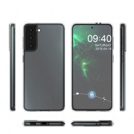 Capa em Silicone Cyoo, Ultra-fino, G991F Galaxy S21, Transparente, CY122243