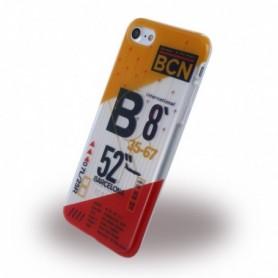 Benjamins BJ7AIRBCN Silicone Cover / Case Apple iPhone 7, 8 Airport BCN Barcelona-El Prat
