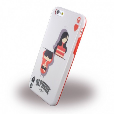 Si Puede, C6QUEEN, Silicone Skin, Apple iPhone 6, 6s, Queen