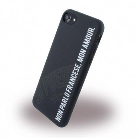 Capa em Silicone Si Puede C7MONAMOUR Apple iPhone 7, 8, Preto