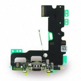 Spare Part System Connector + Flex Cable Apple iPhone 7 Black