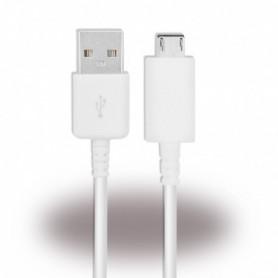 Cabo de Dados Samsung USB para MicroUSB 0.5m, Branco, Original, ECB-DU68WE